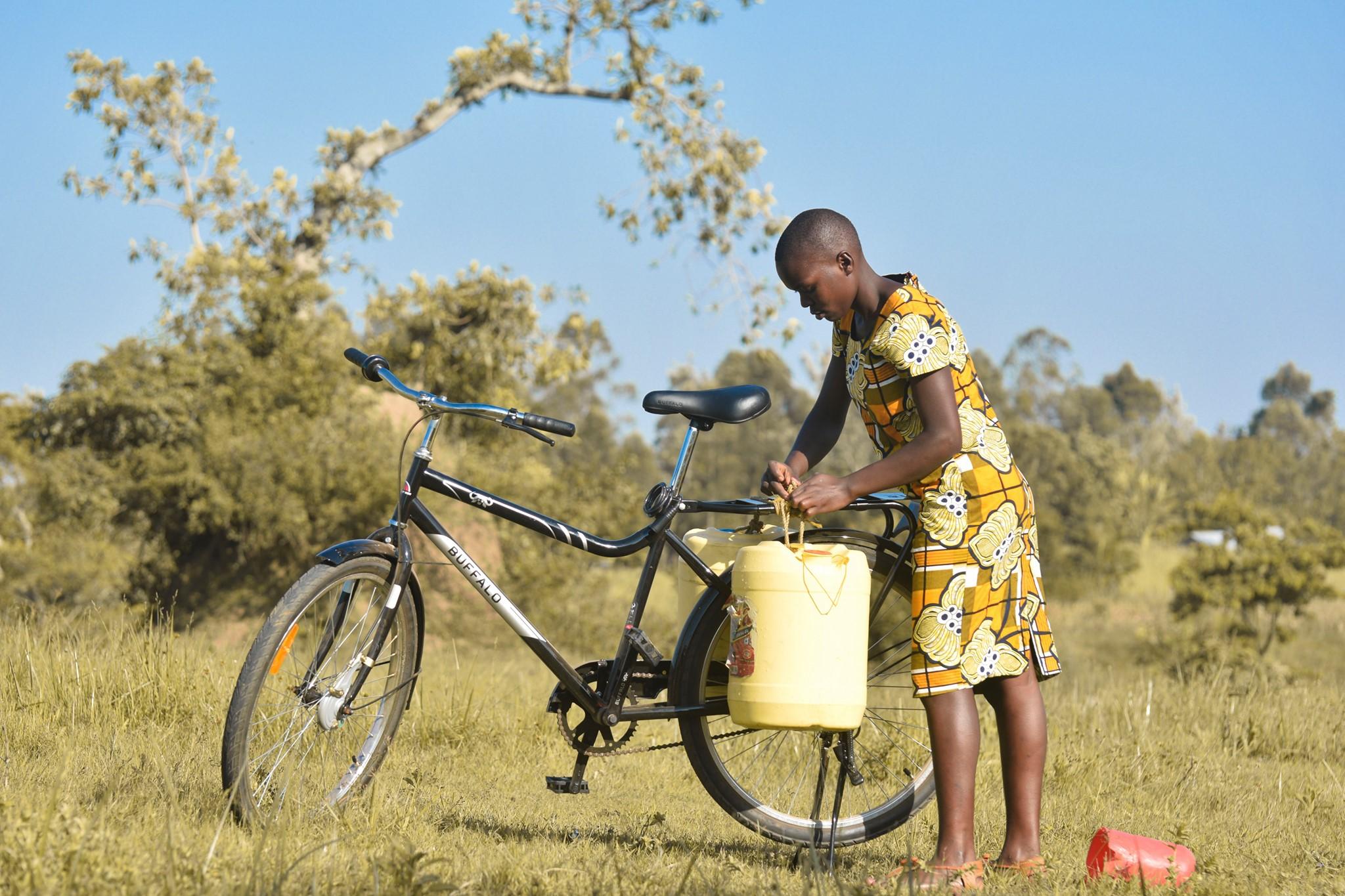 orphanage, bicycle, Matungu, education bicycles